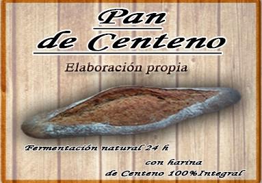 Pan de Centeno, barra 500gr